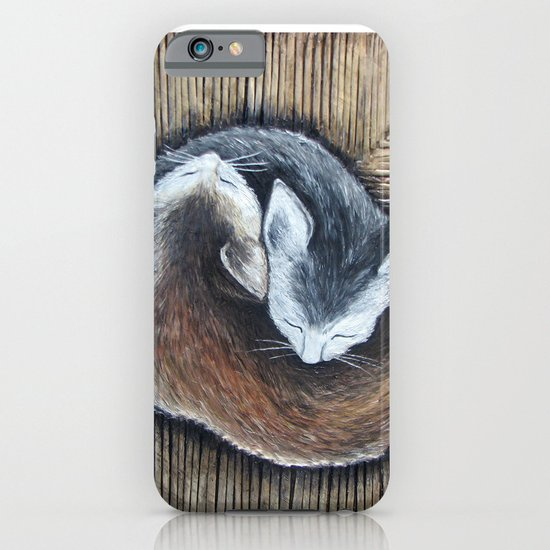 Cats rest iPhone & iPod Case