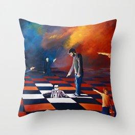 Pasolini, l'arte e la scena / Pasolini, the art and the scene Throw Pillow