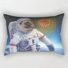 Pugernaut - Pug in Space Rectangular Pillow