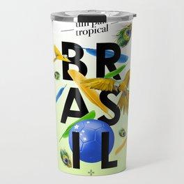 BRASIL Feather - CAPOEIRA RULES Travel Mug