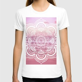 Water Mandala Pink T-shirt
