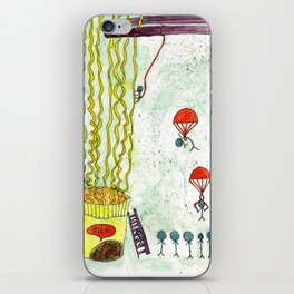 The Mission of Instant Noodles iPhone Skin