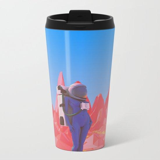 Cosmonaut.2. Metal Travel Mug