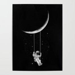 Moon Swing Poster