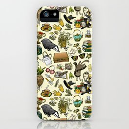 Magical Herbology iPhone Case