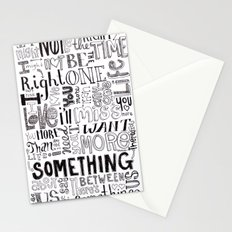 Something About Us Stationery Cards