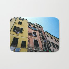Vernazza Buildings Bath Mat