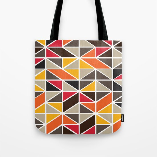 African Tribe Pattern No. 3 Tote Bag
