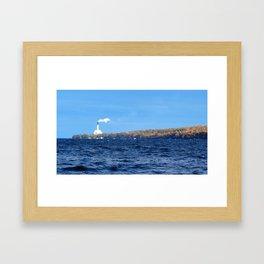 Lake Cayuga Lighthouse Framed Art Print