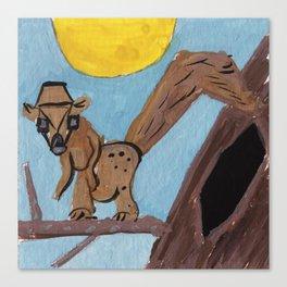 Squareland -Squarrel Canvas Print