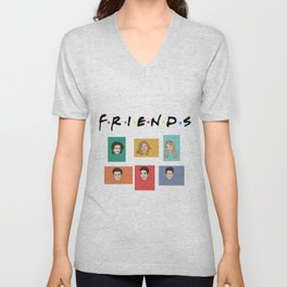 FRIENDS Unisex V-Neck