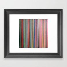 STRIPES24 Framed Art Print