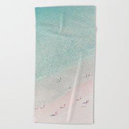 beach - summer of love III Beach Towel