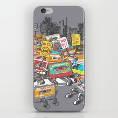 Digital Ruins Our Life iPhone Skin