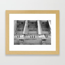 Architecture of Providence Rhode Island Framed Art Print