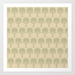 Coriander Spice Moods Palm Art Print