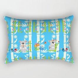 Cute pair of koalas Rectangular Pillow