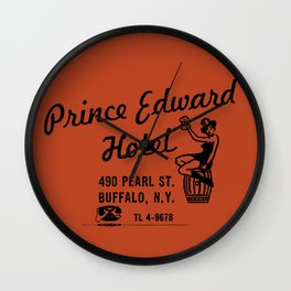 the Prince Edward Hotel Wall Clock