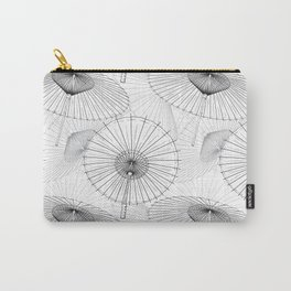 Japanese Umbrella pattern #9 Carry-All Pouch