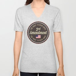 Second Amendment Unisex V-Neck