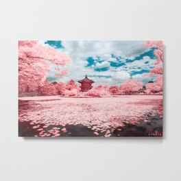 Hyangwonji Pond Metal Print