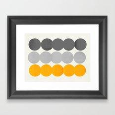 15 o Framed Art Print