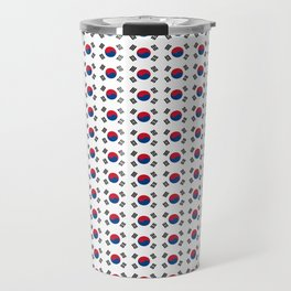 flag of south korea-korea,asia, 서울특별시,부산광역시, 한국,seoul Travel Mug
