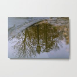 Upside down - Budapest, Hungary Metal Print