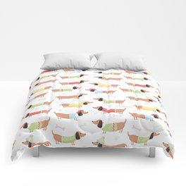 Cute Bassotti Comforters