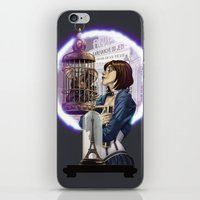 bioshock infinite iPhone & iPod Skins featuring Bioshock Infinite: Freedom  by Daydreams and Giggles Studios