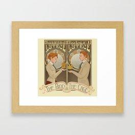 Lutece Twins Nouveau Framed Art Print