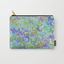 Sunny Hillside Marble Carry-All Pouch