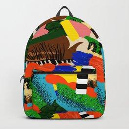 Extinct Animal Print Backpack