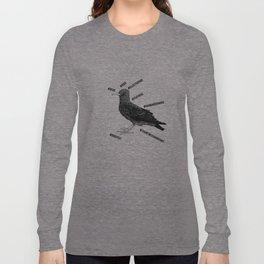 #bird Long Sleeve T-shirt