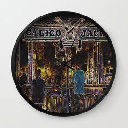 Calico Jacks Grand Cayman Wall Clock