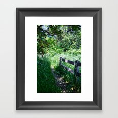 To Grandmother's House We Go Framed Art Print