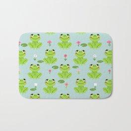 Frog cute kids room decor boys room baby nursery Bath Mat