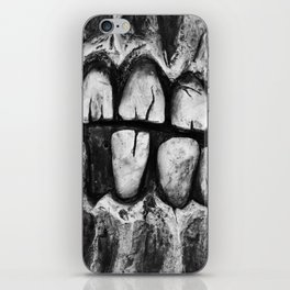Poster for a Dentist waiting room iPhone Skin