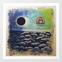 alchemy Art Prints featuring Alchemy by Doom