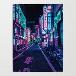 A Neon Wonderland called Tokyo Poster