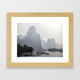 Li River China Framed Art Print