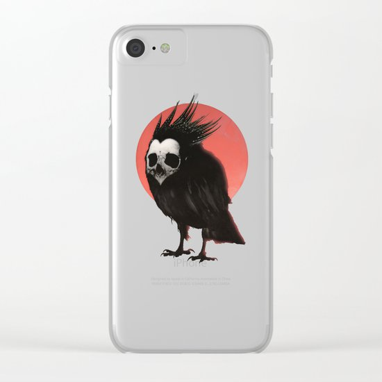 Birdie Clear iPhone Case