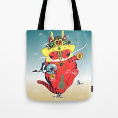 CATCRANEFISH Tote Bag