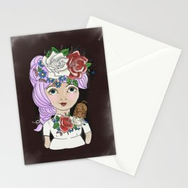 Matilda and owl Stationery Cards