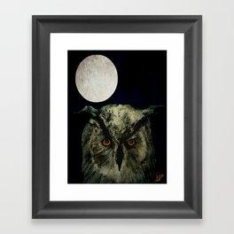 The Night Owl Part 2 Framed Art Print