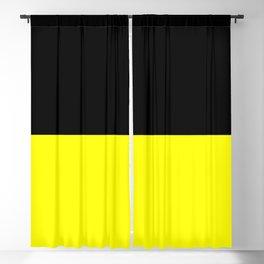Black-Classic Yellow Blackout Curtain