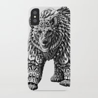 bioworkz iPhone & iPod Cases featuring Ornate Bear by BIOWORKZ