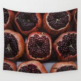 Pomegranates in Israeli Market Wall Tapestry