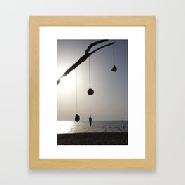 sun again Framed Art Print