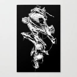 flesh character  Canvas Print
